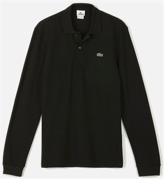 Picture of Lacoste Long Sleeved Polo Shirt Original L.12.12 Black