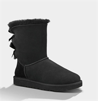 Picture of UGG Australia Boots Bailey Bow Black