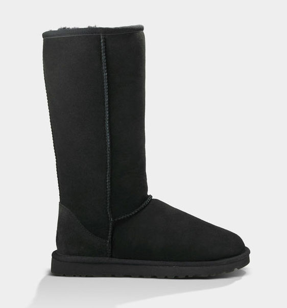 black tall ugg boots