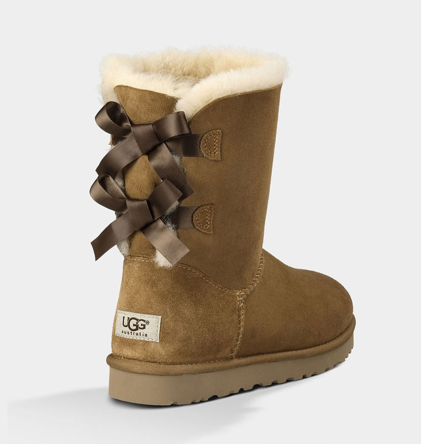 ugg australia boots bailey bow chestnut fredericks cleveleys. Black Bedroom Furniture Sets. Home Design Ideas