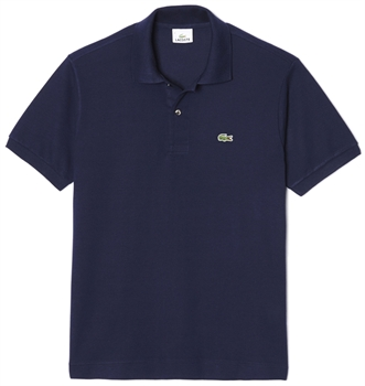 Picture of Lacoste Polo Shirt Original L.12.12 Navy Blue