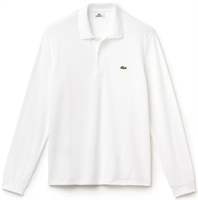 Picture of Lacoste Long Sleeved Polo Shirt Original L.12.12 White