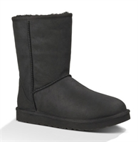 Picture of UGG Australia Boots Classic Short Leather Black