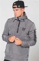 Picture of 11 Degrees Jacket Hurricane Windbreak Grey