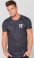 Picture of 11 Degrees T-Shirt Baroque Fade Black