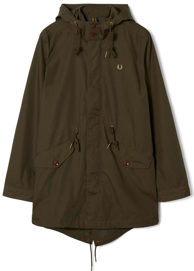 Fred Perry Parka Fishtail Wren Fredericks Cleveleys