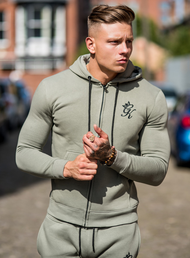 gym king hoody gk tracksuit top vetiver fredericks cleveleys