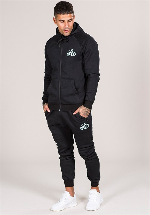 Bee Inspired Joggers Sweatpants Black Fredericks Cleveleys
