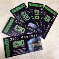 Picture of Fredericks £25 Gift Voucher
