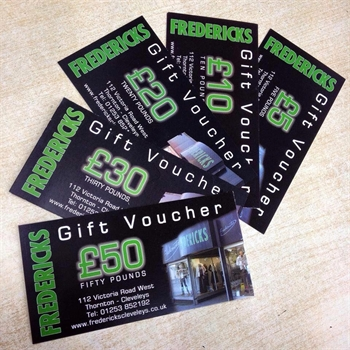 Picture of Fredericks £50 Gift Voucher