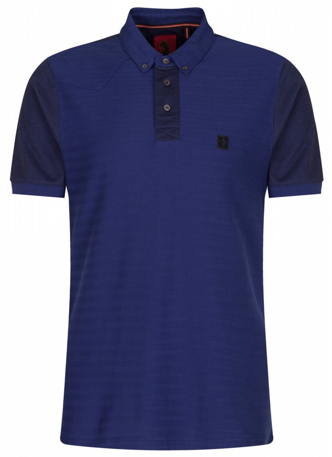 Luke 1977 polo shirt happy days lux midnight fredericks for Luke donald polo shirts