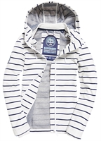 Picture of Superdry Ladies Jacket Marina White/Navy Stripe