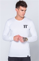 Picture of 11 Degrees T-Shirt Core Long Sleeve White