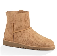 Picture of UGG Australia Boots Classic Unlined Mini Perf Tawny
