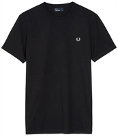 Picture of Fred Perry T-Shirt Ringer Navy