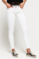 Picture of Superdry Ladies Jeans Cassie Skinny Optic White
