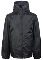 Picture of Pretty Green Jacket Lightweight Zip Up Hooded Black