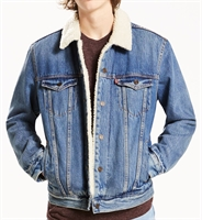 Picture of Levi's Jacket Type 3 Sherpa Trucker Needle Park