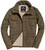 Picture of Superdry Jacket Classic Rookie Military Khaki