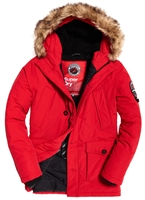 Picture of Superdry Jacket Everest Parka Red