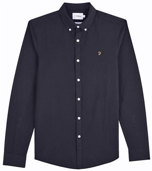 Picture of Farah Shirt Brewer Navy