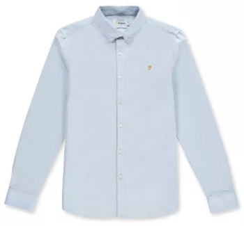Picture of Farah Shirt Brewer Sky Blue