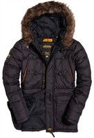 Picture of Superdry Jacket Chinook Parka Black