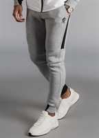 Picture of Gym King Joggers GK Lombardi Tracksuit Bottoms Grey Marl