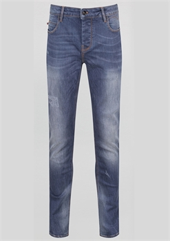 Picture of Luke 1977 Jeans Vacuum Blue Grey