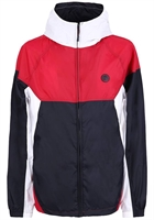 Picture of Pretty Green Jacket ZipThrough Hooded Contrast Red/Navy