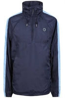 Picture of Pretty Green Jacket Overhead Hooded Navy