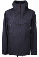 Picture of Pretty Green Jacket Overhead Pocket Detail Navy