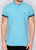 Picture of Bewley & Ritch Shirt Blanca Turquoise