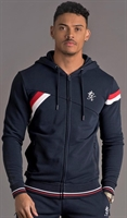 Picture of Gym King Hoody GK Armstrong Tracksuit Top Navy Nights