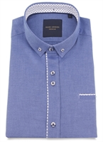 Picture of Guide London Shirt HS2280 Denim Blue
