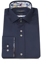 Picture of Guide London Shirt LS75066 Navy