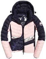 Picture of Superdry Ladies Jacket Offshore Chevron Fuji Navy Mix