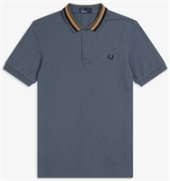 Picture of Fred Perry Polo Shirt Bomber Stripe Lead