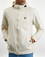 Picture of Lyle & Scott Jacket Zip Through Hooded Snow White