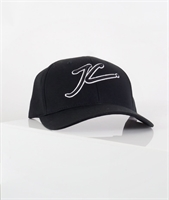 Picture of Jameson Carter Cap Outlined JC Full Trucker Black