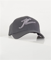 Picture of Jameson Carter Cap Outlined JC Full Trucker Grey