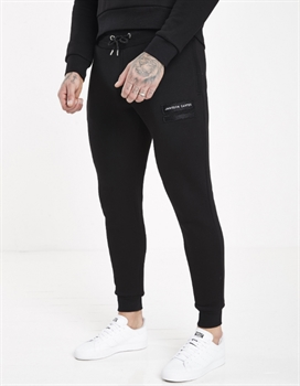Picture of Jameson Carter Joggers Barnes Tracksuit Pants Black