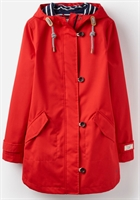Picture of Joules Jacket Coast Mid Red