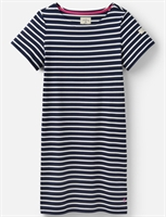 Picture of Joules Dress Riviera Navy Cream Stripe