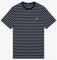 Picture of Fred Perry T-Shirt Fine Stripe Navy