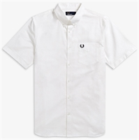 Picture of Fred Perry Shirt Classic Oxford White