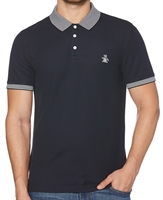 Picture of Original Penguin Polo Shirt Stars N Stripes Dark Sapphire