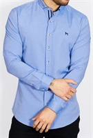 Picture of Bewley & Ritch Shirt Aland B Chambray Blue