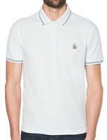 Picture of Original Penguin Polo Shirt Tipped Pastel Blue