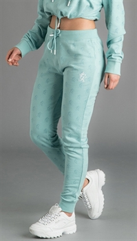 Picture of Gym King Women's GK Avril Joggers Loopback Aqua